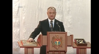 Igor Dodon a fost investit oficial presedinte si a intrat in functie