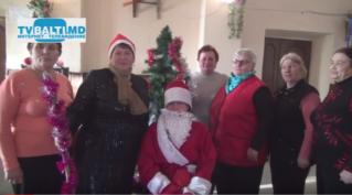 Новогоднее поздравление примара с. Елизавета П. Бэлцат