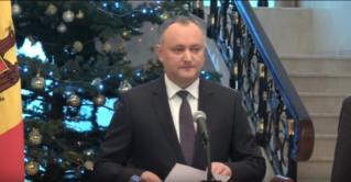 Президент РМ Игорь Додон представил команду своих советников
