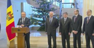 Игорь Додон представил команду советников