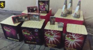 Polițiștii din Bălți au depistat produse alcoolice și pirotehnice fără acte de proveniență