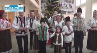 Новогоднее поздравление от фольклорного ансамбля» Дойница «
