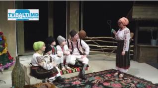 Новогоднее поздравление А.Фуртунэ-Табурчану и фольклорный ансамбль «Дойница»