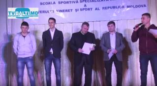 Чествование лучших спортсменов- 2016