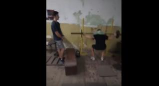 Тренировка гребцов Бельцы