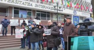 Пикет «Нашей Партии» против захвата прокуратуры криминальным режимом 27.01.2017