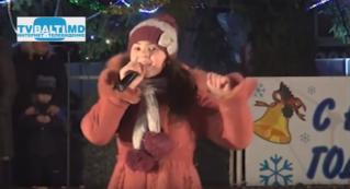 Новогоднее поздравление от Александры Мошиной
