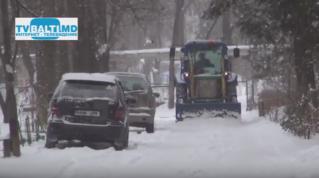 Уборка улиц и внутриквартальных дорог от снега не прекращается