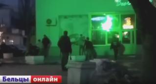 Драка в Бельцах в районе Автовокзала — 24.02.2017