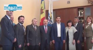 Официальный визит делегации из Турции в Бельцы