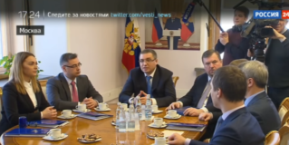 Россия24: Главы молдавской «Нашей партии» и ЛДПР договорились о сотрудничестве.