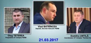 Руководство ПСРМ пытается уничтожить местные структуры «Нашей партии» субтитры на русском