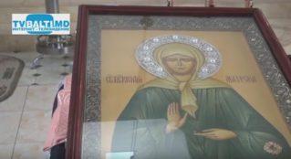 Бельчане пришли поклониться Матрене Московской в церкви Всех Святых