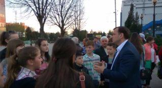 Встреча Андрея Нэстасе с бельчанами