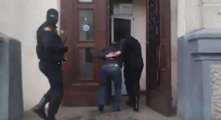 Видео задержания организаторов покушения на Плахотнюка