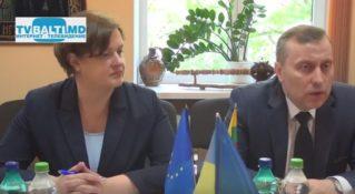 Литовская делегация с визитом в Бельцах