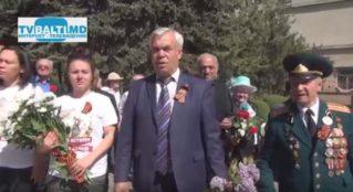 Делегация из Ямало- Ненецкого АО посетила Мемориал Воинской Славы в Бельцах