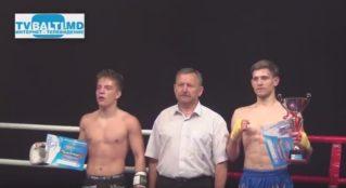 Лучший боец по кикбоксингу К- 1 Александр Фрунза Бельцы