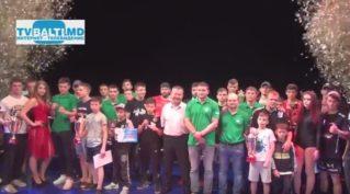 Торжественная церемония награждение участников турнира по единоборствам