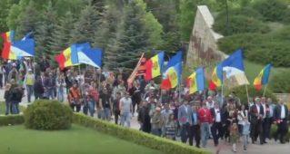 Сторонники «Нашей Партии» возложили цветы на мемориале «Шерпенский плацдарм». 09.05.2017