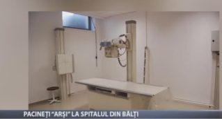 """Pacienți """"arși"""" la spitalul din Bălți"""