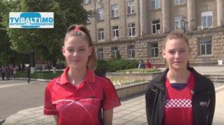 Сестры Брынза завоевали» золото» на Чемпионате РМ по настольному теннису