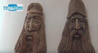 Выставка Д Кошулян народного умельца по дереву