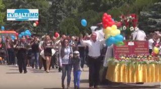 Праздничное шествие ко Дню города Бельцы