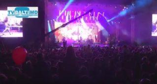 Вечерний концерт ко Дню города Бельцы-2017 год