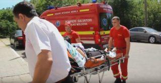 Interventie SMURD Balti- Chisinau pentru o femeie de 32 ani