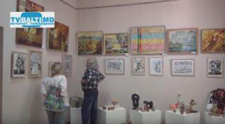 Выставка работ Флорештской художественной школы