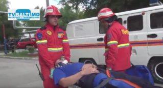 Учения МЧС по спасению людей при пожаре 15 06 17