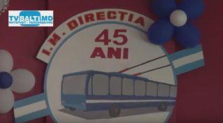 45 лет Бельцкому троллейбусному управлению