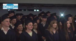 Торжественная церемония «Выпускник- 2017» мед колледжа Бельц