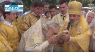 Поздравление протоиерея Павла церкви Петра и Павла, с юбилеем-75 летием