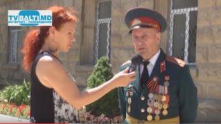Вручение Русским посольством ветеранам ВОВ по 1000 лей