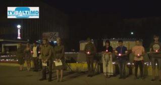 Комсомольцы зажгли «свечу памяти» начала ВОВ