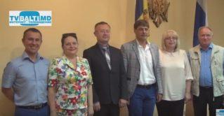 Встреча делегации Нижнего Новгорода с администрацией примэрии Бэлць