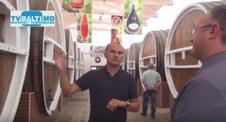 Нижегородская делегация посетила виноконьячное предприятие» Барза Албэ»