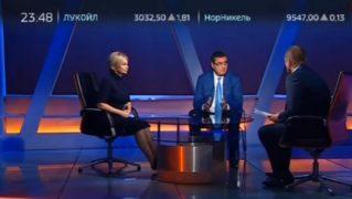 Ренато Усатый в прямом эфире на телеканале Россия 24