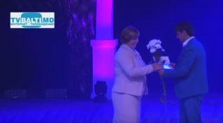 Торжественная церемония чествование педагогов Бэлць- 2017