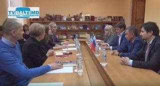 Пресс -конференция: Бельцы- Нижний Новгород о сотрудничестве и проектах