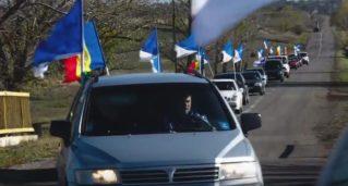 «Наша Партия» провела грандиозный автопробег по югу Молдовы