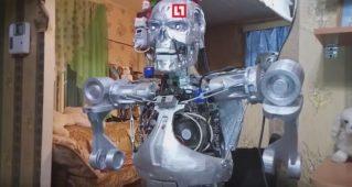 Терминатор Т-800 был создан на 3D принтере программистом из Перми