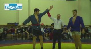 Финальный бой за звание Чемпиона РМ по самбо Артема Рудницкого в тяжелой весовой категории
