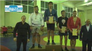 Награждение победителей Чемпионата РМ по самбо среди кадетов