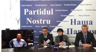 Примар мун. Бэлць Ренато Усатый осудил действия властей Молдовы