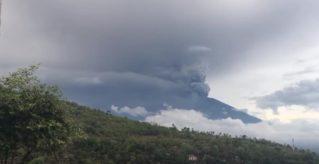 Живые кадры: Извержение Вулкана на Бали