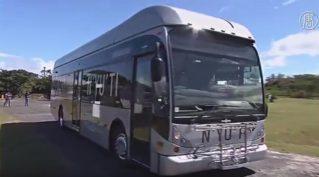 В Коста-Рике протестировали автобус на водороде