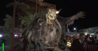 В Австрии прошло традиционное шествие Крампуса